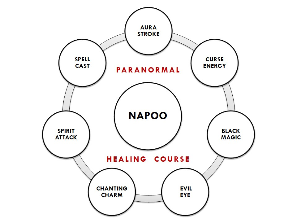 Napoo paranormal healing course.