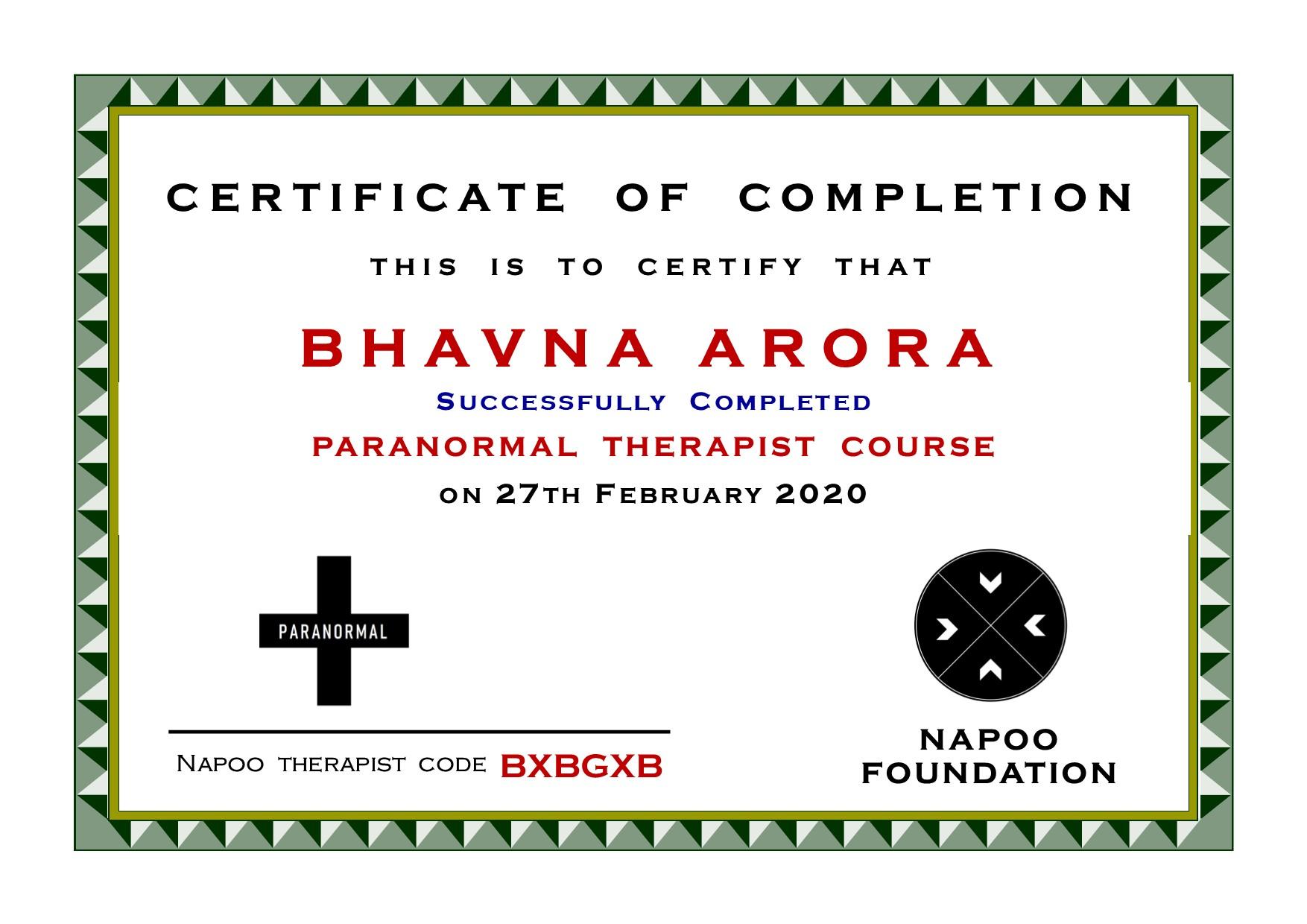 Paranormal Therapist in Gurugram