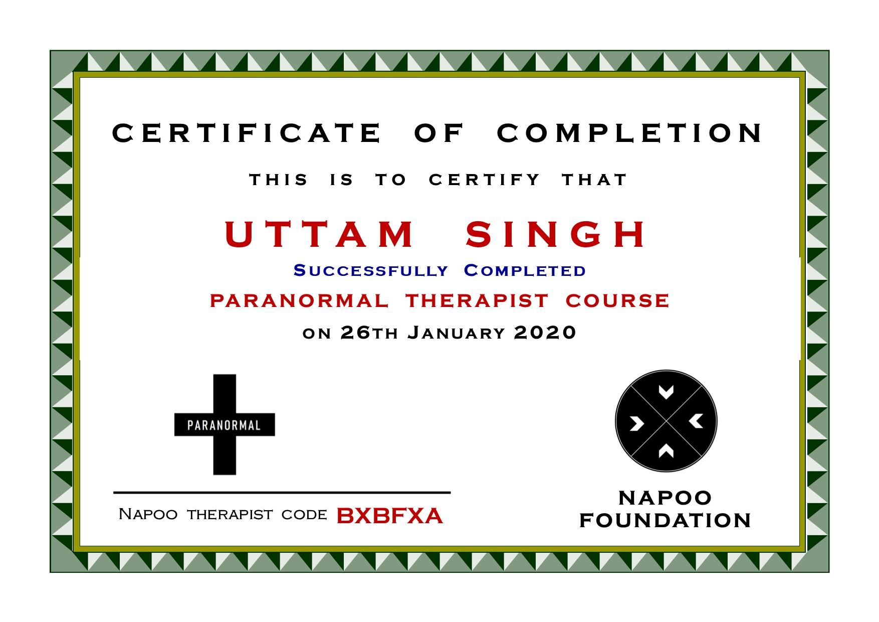 Paranormal Therapist in Delhi
