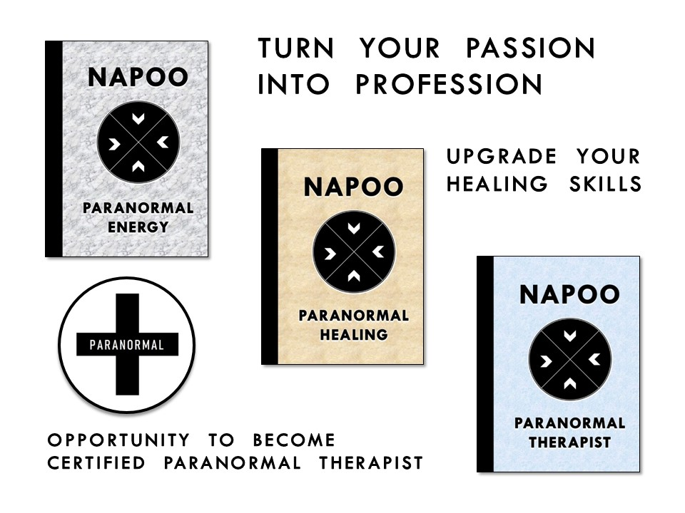 paranormal courses for professional therapists